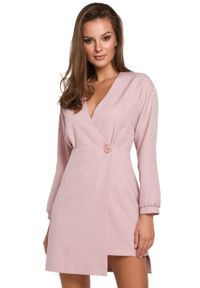Sukienka wizytowa asymetryczna, elegancka, mini