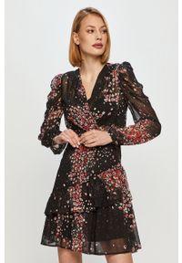 Morgan - Sukienka. Materiał: tkanina, materiał. Długość rękawa: długi rękaw. Typ sukienki: rozkloszowane