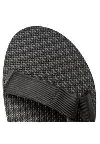 Czarne sandały trekkingowe Teva na lato