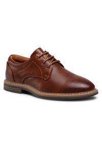 Brązowe buty komunijne Ottimo