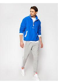 Niebieski polar Adidas