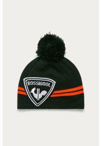 Czarna czapka Rossignol z aplikacjami