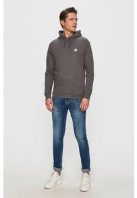 adidas Originals - Bluza bawełniana. Okazja: na co dzień. Kolor: szary. Materiał: bawełna. Styl: casual