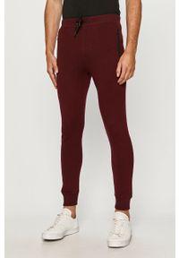 Brązowe spodnie dresowe John Frank