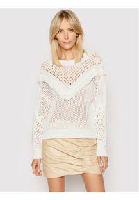 Biały sweter klasyczny Rinascimento