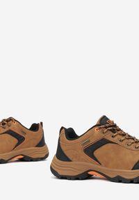 Born2be - Camelowe Buty Trekkingowe Cecrol. Nosek buta: okrągły. Zapięcie: sznurówki. Materiał: nubuk, syntetyk. Szerokość cholewki: normalna. Sport: wspinaczka