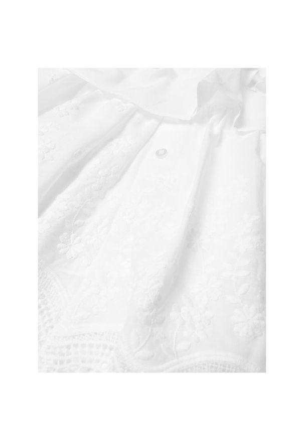 Biała sukienka Mayoral casualowa, prosta