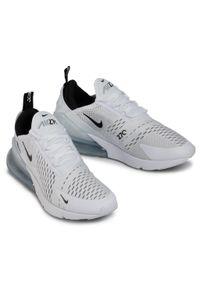 Białe półbuty Nike na co dzień, eleganckie, z cholewką