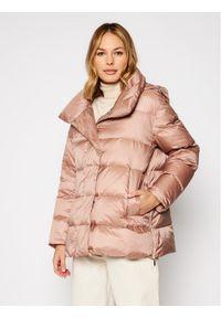 Różowa kurtka zimowa Geox