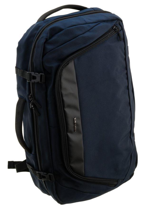DAVID JONES - Plecak z miejscem na laptopa granatowy David Jones PC-029 D.BLUE. Kolor: niebieski. Materiał: materiał
