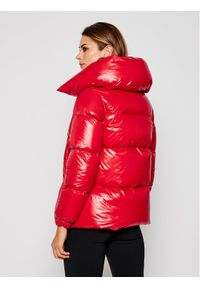 Czerwona kurtka przejściowa Hetrego