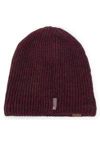 Czerwona czapka zimowa Buff
