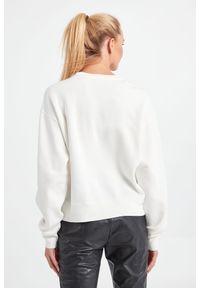 Pinko - BLUZA ABETONE PINKO. Materiał: bawełna, tkanina. Długość rękawa: długi rękaw. Długość: długie. Wzór: nadruk