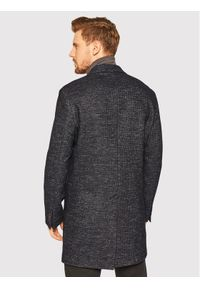 Czarny płaszcz przejściowy Oscar Jacobson #7