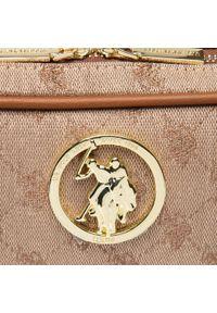 U.S. Polo Assn - Torebka U.S. POLO ASSN. - Lady Lake Handle Crossb. BEUKG5228WJP500 Brown. Kolor: brązowy. Styl: klasyczny. Rodzaj torebki: na ramię