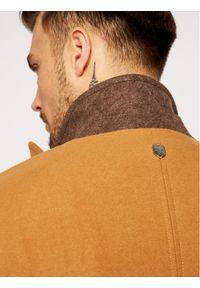 Rage Age Płaszcz wełniany Tunein 1 Brązowy Regular Fit. Kolor: brązowy. Materiał: wełna