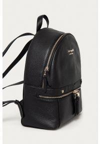 Kate Spade - Plecak skórzany. Kolor: czarny. Materiał: skóra