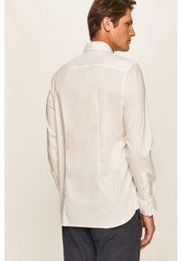 Biała koszula Guess Jeans na co dzień, casualowa