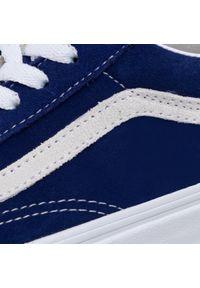 Niebieskie półbuty Vans z cholewką