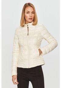 Biała kurtka Trussardi Jeans bez kaptura, casualowa
