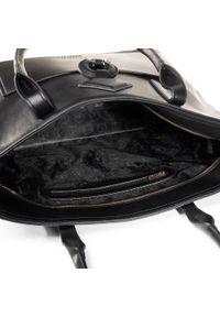 Czarna torebka klasyczna Puccini skórzana, klasyczna #5