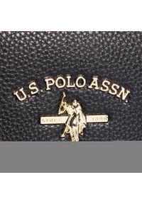 U.S. Polo Assn - Torebka U.S. POLO ASSN. - Standord S Doub. Handle BEUSS5179WVP000 Black. Kolor: czarny. Materiał: skórzane. Styl: klasyczny