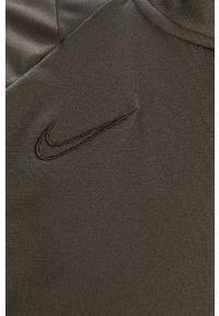 Nike - Dres. Kolor: szary. Materiał: dresówka