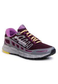 Fioletowe buty do biegania columbia na co dzień, z cholewką