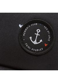 Czarna czapka z daszkiem Femi Stories