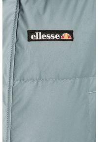 Niebieska kurtka Ellesse z kapturem