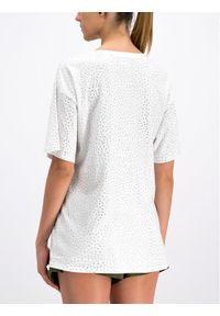 Biały t-shirt The Kooples