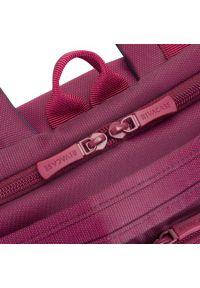 Fioletowy plecak na laptopa RIVACASE #9