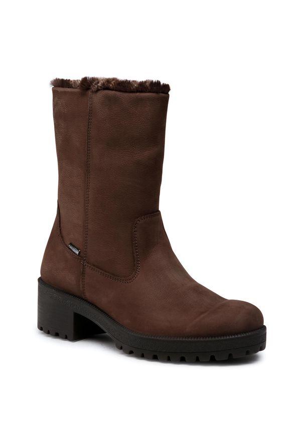 Brązowe buty trekkingowe Imac