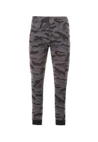 Szare spodnie dresowe Born2be moro #6