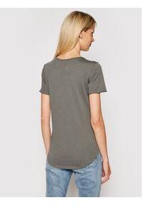 G-Star RAW - G-Star Raw T-Shirt Graphic D19950-4107-1260 Szary Slim Fit. Kolor: szary
