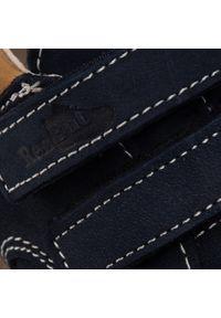 RenBut - Trzewiki RENBUT - 13-1447 Granat. Kolor: niebieski. Materiał: skóra, nubuk. Szerokość cholewki: normalna