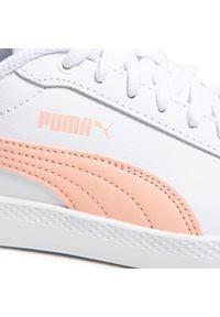 Białe półbuty Puma z cholewką, na płaskiej podeszwie