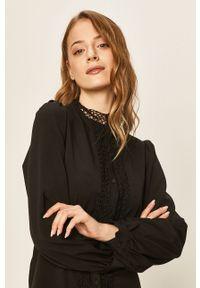Czarna sukienka ANSWEAR casualowa, prosta, mini, na spotkanie biznesowe #6