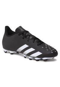 Czarne buty do piłki nożnej Adidas