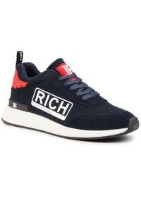 Niebieskie sneakersy John Richmond
