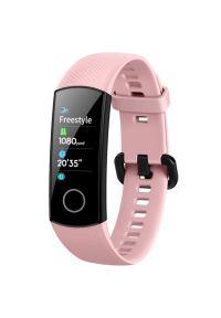 Różowy zegarek HONOR cyfrowy