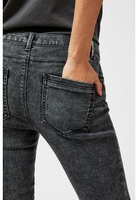 Szare jeansy MOODO długie