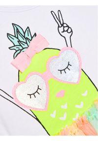Sukienka Billieblush prosta, casualowa, w kolorowe wzory, na co dzień