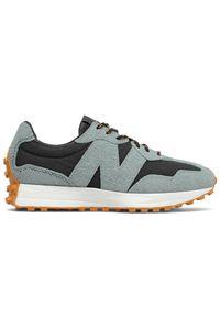 New Balance MS327RE1. Materiał: zamsz, nylon. Szerokość cholewki: normalna. Sezon: lato