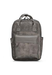 Szary plecak Wittchen w paski
