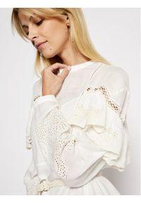 Patrizia Pepe Sukienka letnia 2A2194/A8X9-W146 Biały Regular Fit. Kolor: biały. Sezon: lato