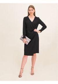 iBlues Sukienka koktajlowa 72262996 Czarny Regular Fit. Kolor: czarny. Styl: wizytowy #4