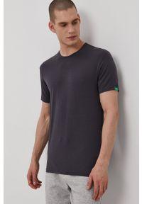 Calvin Klein Underwear - T-shirt CK One. Okazja: na co dzień. Kolor: szary. Materiał: włókno, dzianina, materiał. Wzór: gładki. Styl: casual