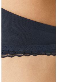 Niebieski biustonosz TOMMY HILFIGER z odpinanymi ramiączkami