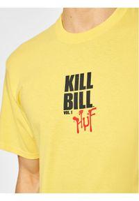 Żółty t-shirt HUF